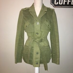 Hei Hei Anorak Green Utility Jacket Size Small